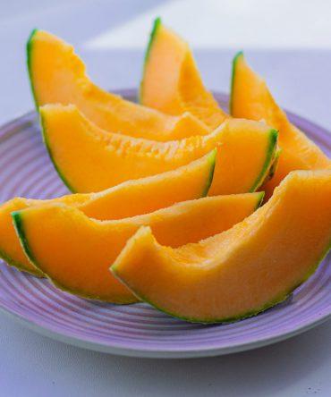 เมล่อน โบคุโจ เนื้อส้ม